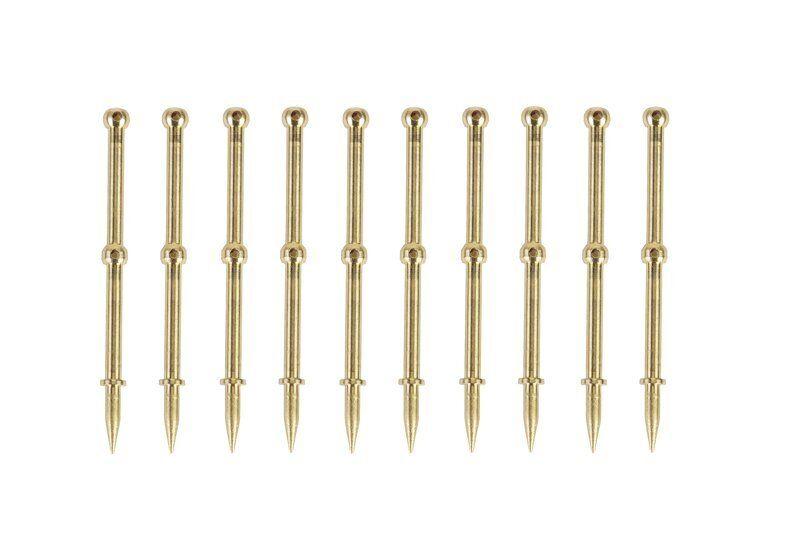 grigioPNER 450.3 parapetti pilastri per parapetto Ø 0,8,  10 pezzi  Sconto del 60%