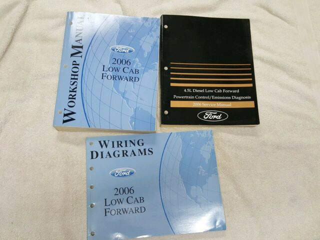 2006 Ford Low Cab Forward Workshop Service Shop Repair