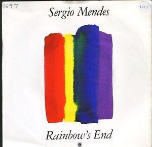 SERGIO-MENDES-rainbow-039-s-endsi-senor-AM-142-uk-a-amp-m-7-034-PS-EX-EX-writing-on-sleeve