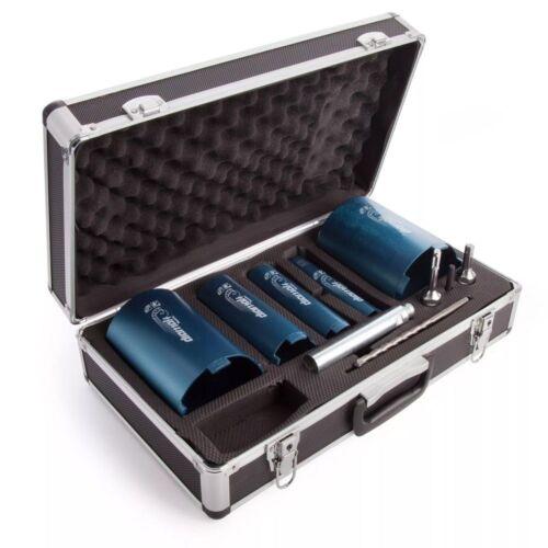 Boîtier Métallique Makita P-74712 10 Pièce 5 Core Diamond Core Set Pour Granite Marbre