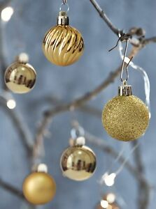 image is loading christmas ball ornaments shatterproof decorations tree balls small - Christmas Ball Decorations