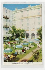 Image Is Loading The Castle Harbour Hotel Bermuda Postcard C2194