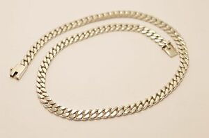 """51 CM 20/"""" 1 STERLING SILVER 925 QUALITY FINE CURB NECKLACE CHAIN"""