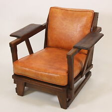 Old Hickory American Provincial Chair 1950 Rustic Modern Martinsville, Indiana
