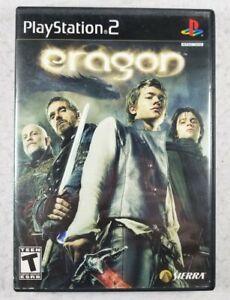 Eragon (Sony PlayStation 2 PS2 Black Label, 2006) Complete CIB - Free Shipping!