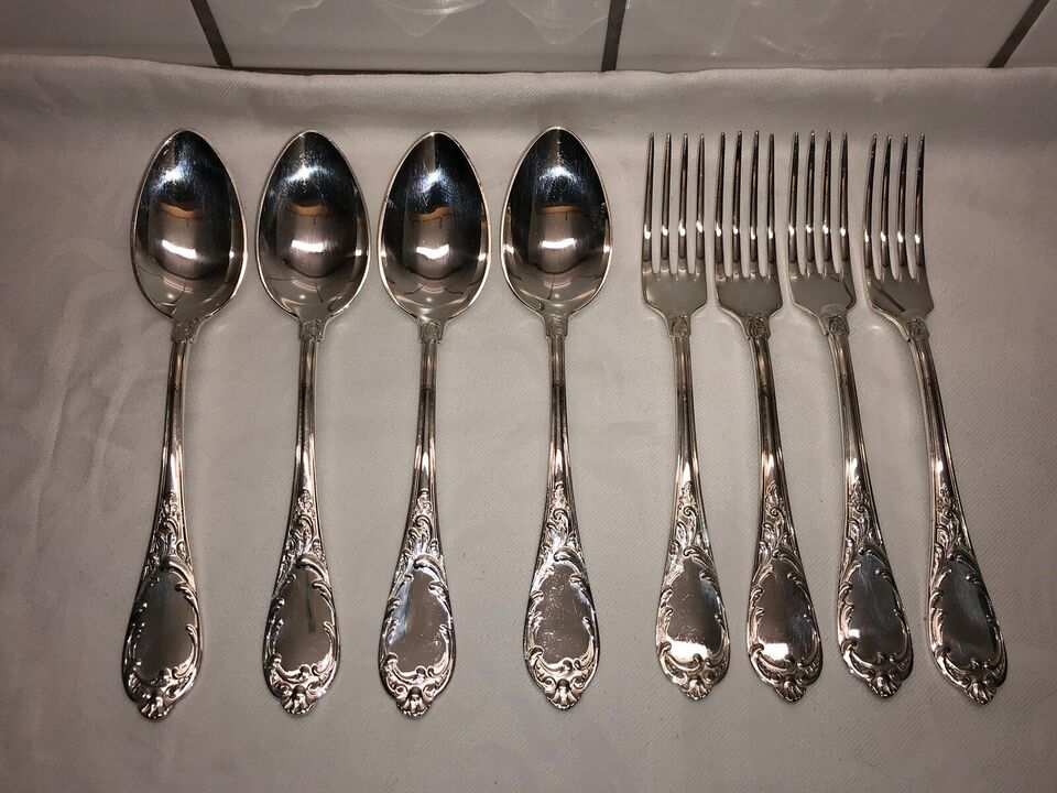 Sølvtøj, Smørekniv, gafler