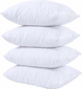 Protectores-De-Almohada-Acolchado-Impermeable-100-algodon-con-cremallera-Almohadas-cubre-Paquete-de