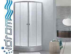 Box doccia doppia porta a saloon profilo alluminio h