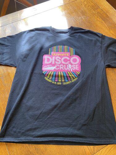 Ultimate Disco Cruise Graphic Shirt Sz XL