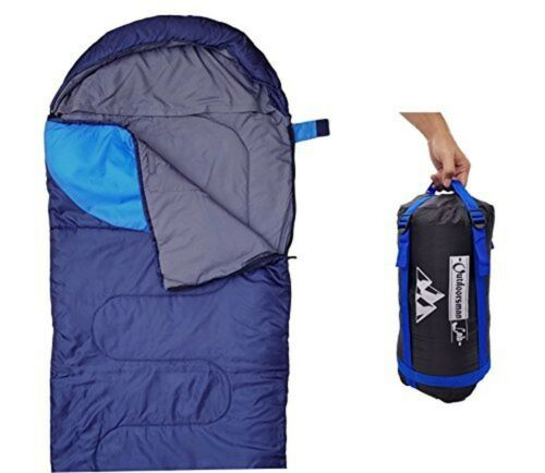 Outdoorsmanlab Sleeping Bag 47F//38F Lightweight Camping Backpacking Travel