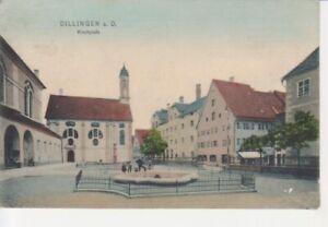 Dillingen a.D. Kirchplatz gl1908 210.097