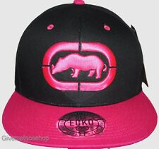 Ecko Unltd Snapback Caps, Exclusive flat peak fitted hats, hip hop baseball brim