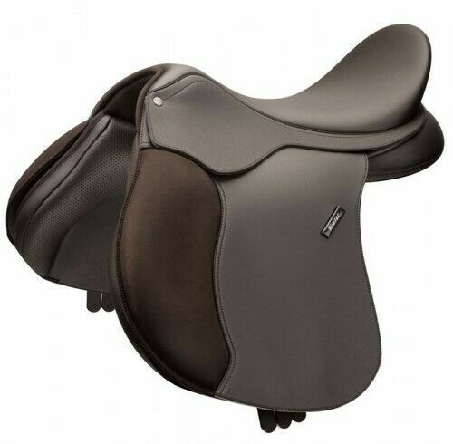Wintec Wide 500 All Purpose Flock Saddle Changeable Gullet in Various Sizes
