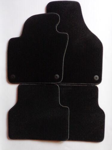 Autoteppiche  Fußmatten für  VW Tiguan ab Bj.09//2007-2016 schwarz Nadelfilz