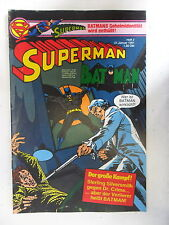 1 x Comic  Superman Batman  Nr.2  mit Sammel Ecke  (Jan 1981)    Z. 2
