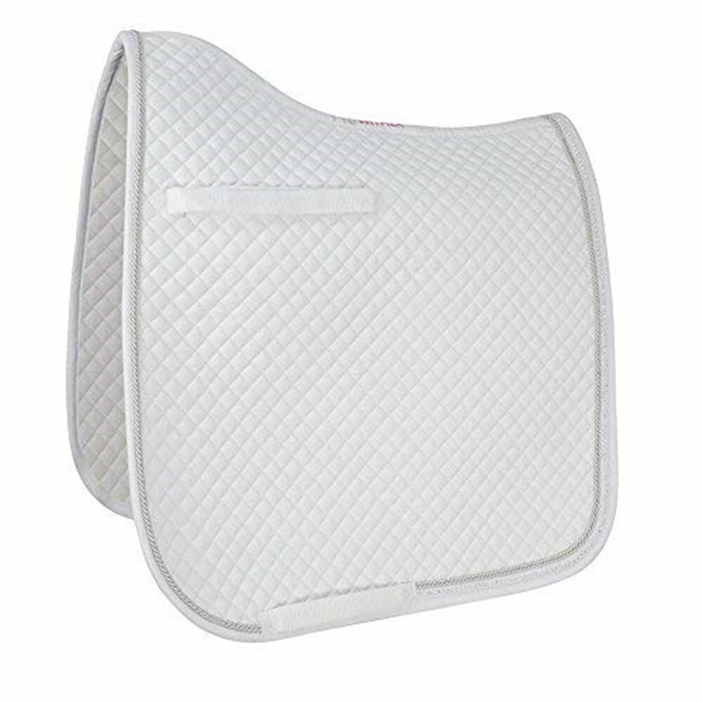 Hywither Diamond Touch Dressage Pad - White - Cob full   factory direct