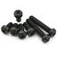50X-Kunststoff-M2-M3-M4-Nylon-Kreuz-Pan-Kopf-Maschine-Schrauben-Schwarz-5MM-15MM Indexbild 2