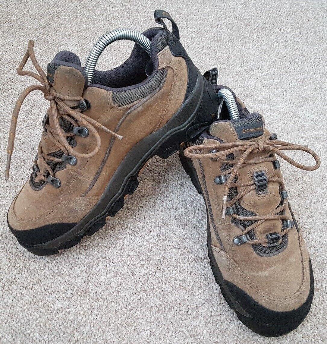 COLUMBIA Kimatak Low Waterproof Winter Hiking Trail shoes Boots Women US Sz 7.5