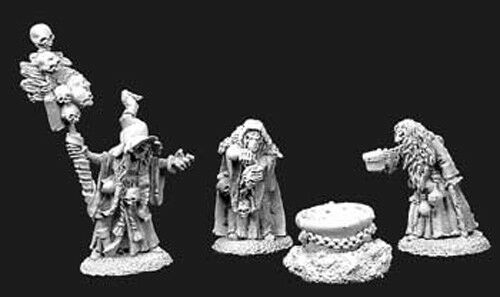 Reaper Miniatures Witch Coven Dark Heaven Legends Unpainted Metal Figure