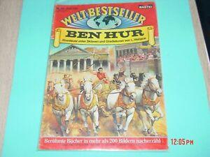 Weltbestseller-Comic-Heft-Nr-28-Ben-Hur-selten-alt