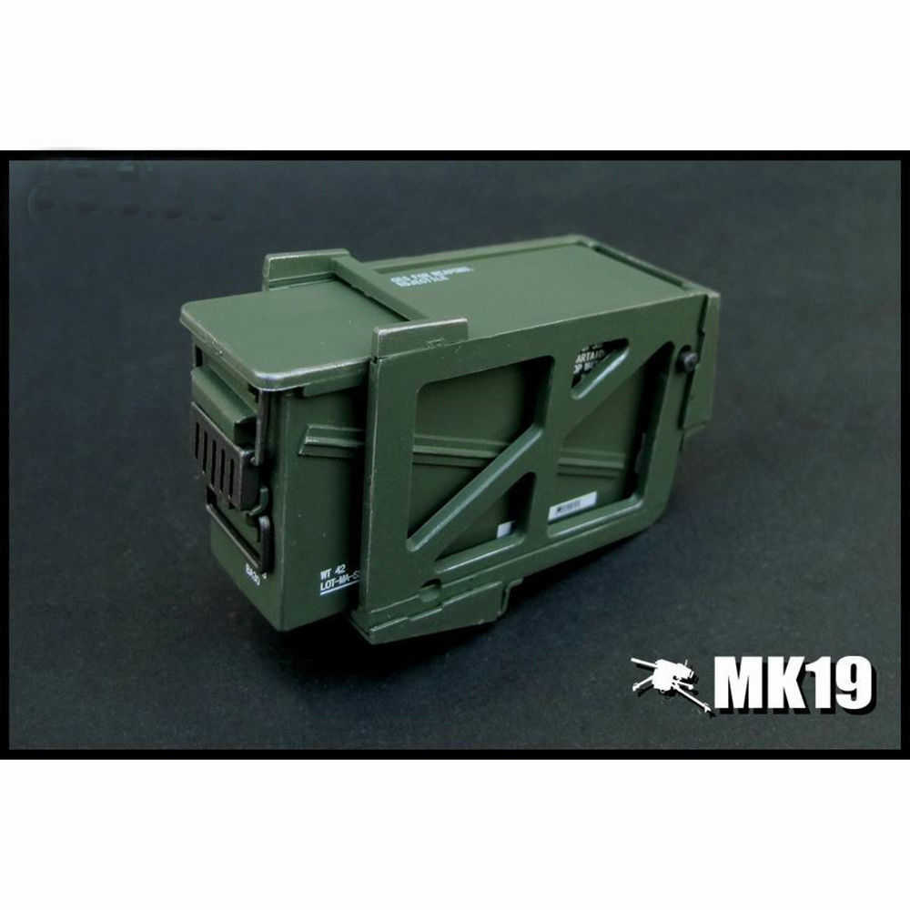 ZYTOYS 1 6 Scale Scale Scale Mk 19 Grenade Launcher Model for 12  Action Figure b5a60c
