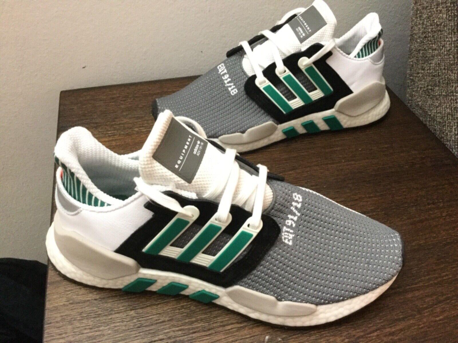 Adidas EQT Equipment Support 91  18  Boost bianca verde AQ1037 men 655533;s 10.5 &U11.5  all'ingrosso economico e di alta qualità