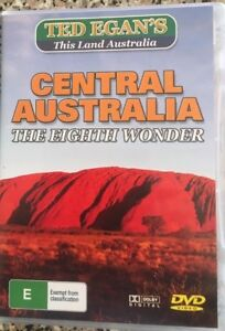 CENTRAL AUSTRALIA The Eighth Wonder TED EGAN DVD