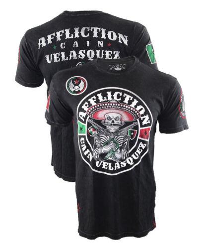 Affliction Cain Velasquez Revolutionary YOUTH Shirt UFC 188 Mexico Small Med LG