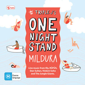 Various-Triple-J-039-s-One-Night-Stand-Mildura-CD-DVD-ABC-Music-2014-NEW-SEALED