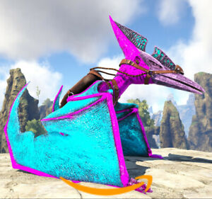 Ark-Survival-Evolved-PC-PVE-NEW-COTTON-CANDY-PTERO-Pteranodon-Level-270