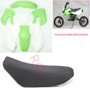 KAWASAKI KLX 110 KX65 Plastics Fender Fairing Kit for Pit Dirt Bike Motorcycle
