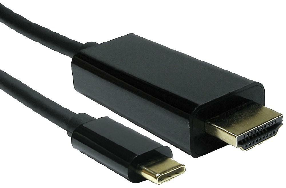 USB-C TO HDMI CABLE, 4K 60HZ 1M, CONVERT FROM USB-C, CONVERT TO HD FOR UNBRANDED