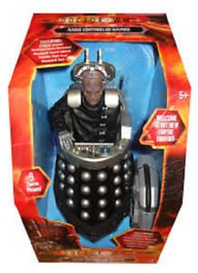 Character Options Doctor Who 12-inch Radio Controlled Davros Rare Collectible