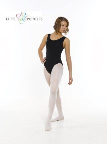 COTTON LYCRA SLEEVELESS PLAIN FRONT TAP//MODERN//DANCE//BALLET TUTU LEOTARD