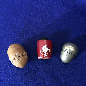 Thimble Holders Child's [3] with Thimbles
