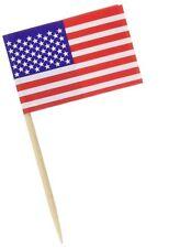 Pkgd U S Flag Picks 50//Pkg