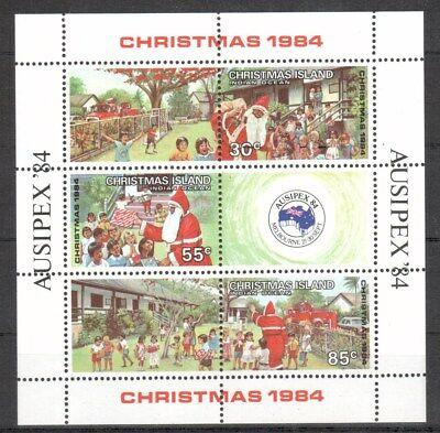 Weihnachten & Feiertage Übersee:5577 LiebenswüRdig Weihnachtsinsel Michelnummer Block 3 Postfrisch