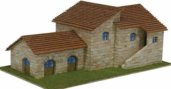 Villa Toscana 1780 pcs Model Kit 160 x 280 x x x 110 mm. AEDES ARS 2fcba3