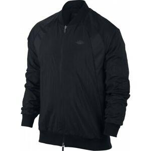 77a3ff811 Details about Nike Men's Jordan JSW Wings Muscle Jacket Windbreaker Zip  Black Size M NEW!