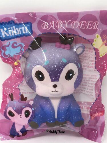 Kiibru Kawaii Baby Galaxy Deer Squishy Blueberry Scented