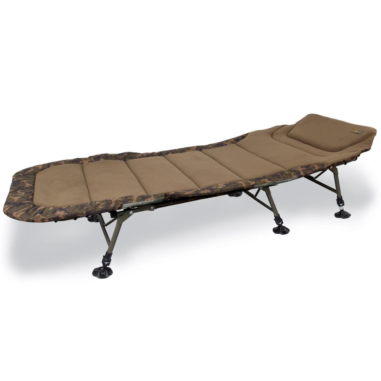 Fox Karpfenliege Angelliege - R2 Camo Bedchair Standard