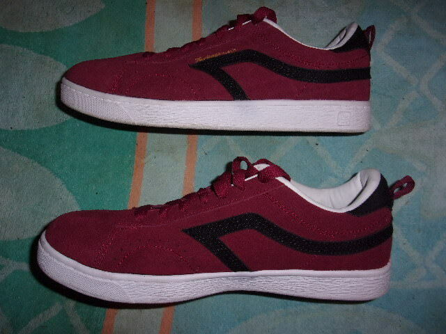 AS AIRSPEED FOOTWEAR RED SHOES MEN'S SIZE 8 1 2    HERITAGE SUEDE