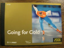 """xxx NVPH Prestigeboekje nr. 10 - Olympische Spelen. """"Going for Gold"""" Cw. 30,--"""