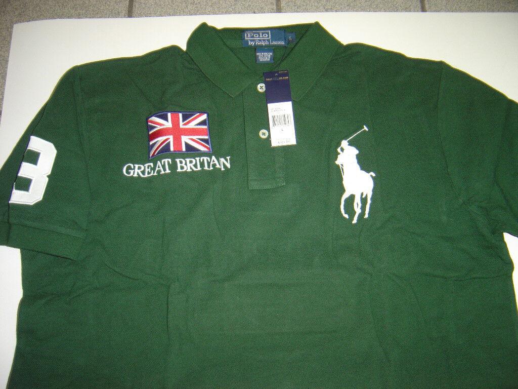 Soccer Ball with England Flag Mens Short Sleeve Polo Shirt Regular Blouse Sport Tee