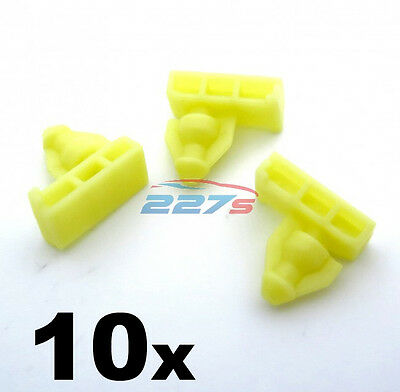 Moulding Clips for Nissan Juke /& X-Trail 2X Wheel Arch Surround Trim Clips