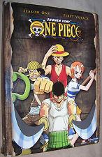One Piece - Season 1- Vol. 1: First Voyage 2-Disc DVD Set Uncut / Unedited OOP