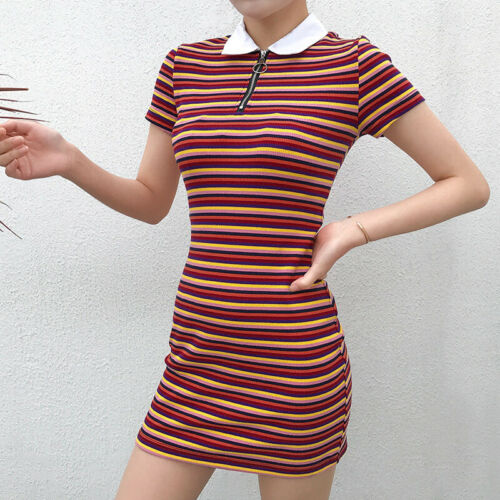 UK Womens Backless Sundress Mini Dress Ladies Summer Bodycon Dress Party Holiday