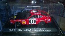 RALLY SAFARI 1971 DATSUN 240Z Neuf en boite