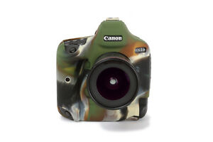 Camera silicone cover EOS 1DX/ EOS 1DX Mark II Camouflage + Screen Protector