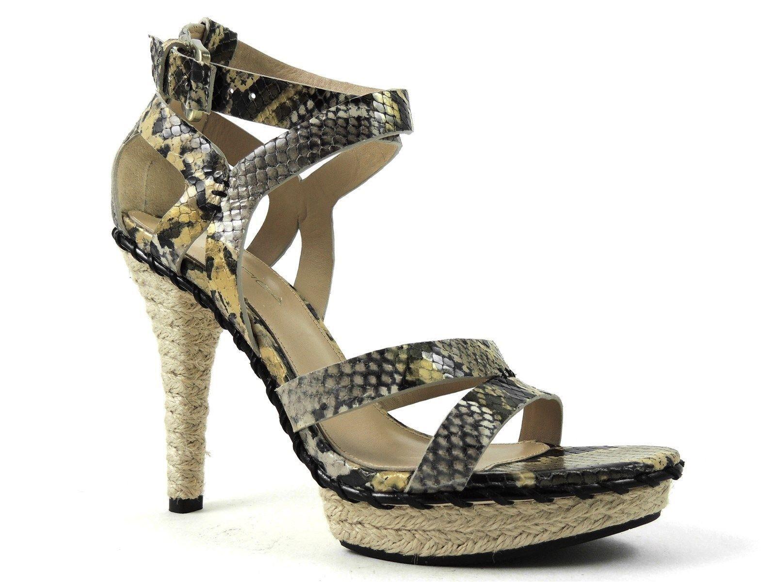 Via Spiga Women's Comanche Platform Sandals Light Taupe Size 6.5 M